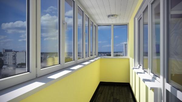 Остекление балкона в городских квартирах 195983_2367
